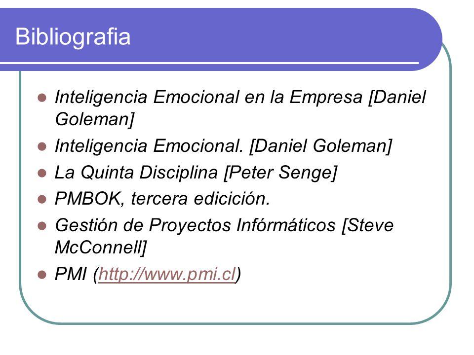 Bibliografia Inteligencia Emocional en la Empresa [Daniel Goleman]